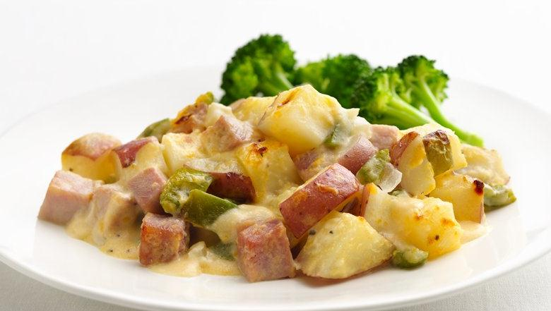 Ham potato healthy recipe